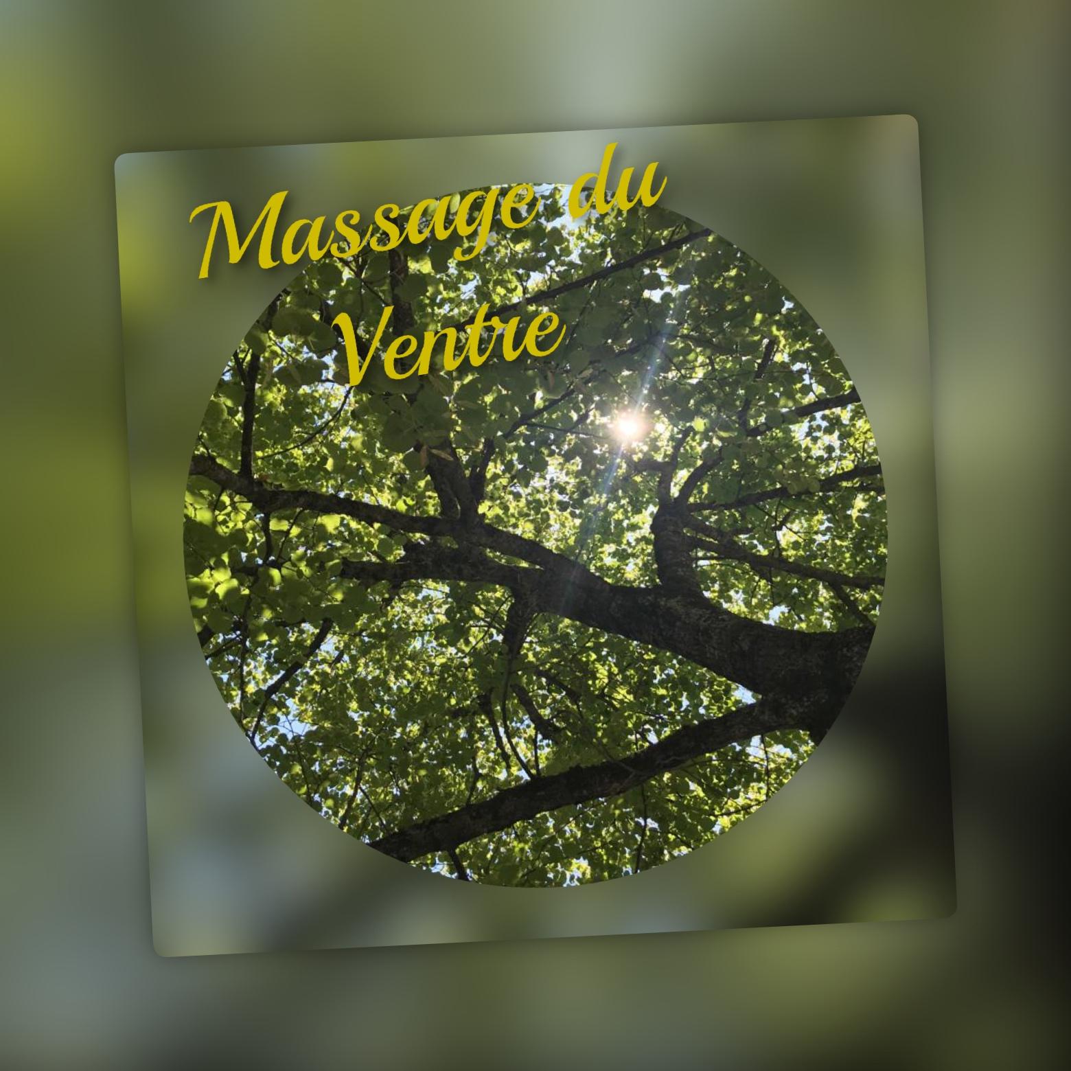 image massage du ventre l'Heure Passagère
